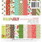 American Crafts Pebbles Holly Jolly Collection Christmas 6 X 6 Paper Pad