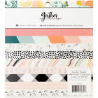 American Crafts Maggie Holmes Gather 6 X 6 Inches 36 Sheets Paper Pad