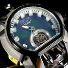 Invicta Reserve Magnum Bolt Zeus Tourbillon Black MOP Steel 52mm Watch New
