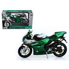 New Benelli Tornado Tre 1130 Green/Silver Motorcycle 1/12 Diecast Model by Maist