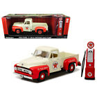 New 1953 Ford F-100 Pickup Truck Texaco with Vintage Texaco Gas Pump 1/18 Diecas