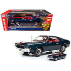 New 1968 AMC AMX Hardtop Blazer Blue Class of 68 50th Anniversary 1/18 and 1/64