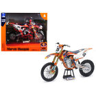 New KTM 450 SX-F #25 Marvin Musquin Red Bull Factory Racing 1/10 Diecast Motorcy