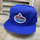 Vintage AMOCO Mesh SnapBack Trucker Hat Cap Patch K PRODUCTS Made In USA