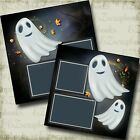 Ghosts 2 Premade Scrapbook Pages EZ Layout 4118