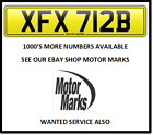 XFX 712B CHEAP BARGAIN NUMBER PLATE SEE SHOP LOADS MORE XFX 712B SCOOTER VESPA
