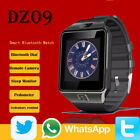 DZ09 Black Android Blue tooth Sports Smart Watch Phone for iPhone Camera
