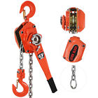 Chain Lever Hoist Come Along Ratchet Lift 3.0 Ton Capacity 0 Ship 51020 Ft