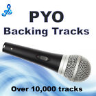 PYO Backing Tracks on CD x10 Vocalists Entertainers, Talent Shows, Auditions,