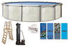 24 Round Fallston Above Ground Swimming Pool Full Pool Kit with PRC System