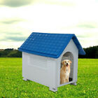 XXL DOG KENNEL FOR X LARGE DOGS OUTDOOR PET CABIN INSULATED HOUSE BIG SHELTER US