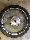 73 yamaha dt3 250 front wheel,438-25120-10-00r, rt3 360