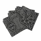 Dotty Native Mark Making Textured Cotton Dinner Napkins by Roostery Set of 4