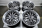 17 Wheels Honda Accord Civic Corolla Cr Z Prelude Lancer Scion xA xB Black Rims