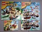3 LEGO Pirate Sets 6239, 6241, 6242 + Instruction Manuals, 100% Complete, No Box