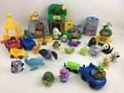 Fisher Price Little People Large Sounds Zoo Playset with Figure Animals 37pc Lot