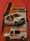2014 Matchbox MBX Heroic Rescue 80 120 Renault Master AmbulanceDiecast+ 1 64 sc