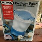 Rival Electric Ice Cream Maker Parlor 2 Quart Tabletop