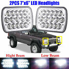 LED Headlight Headlamp Hi Lo Beam Upgrade for Jeep Wrangler Cherokee JK YJ CJ TJ