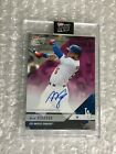 Alex Verdugo 2018 Topps Now Road To Opening Day Auto RC SP 25 Dodgers