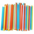 Jumbo Smoothie Straws Assorted Colors