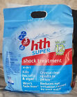 NEW hth Super Shock Treatment 12 x 1 lb Bag Swimming Pool Chlorinator FREE SHIP