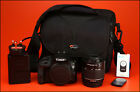 Canon EOS 100D DSLR Camera +18-55mm Zoom Lens kit + Battery, & Charger,  & Bag