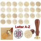 Letter A Z 26 Retro Copper Head Seal Classic Initial Wax Sealing Stamp Alphabet