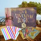 80 Pages Our Adventure Book Scrapbook Photo Album Travel Memory Book DIY Gift