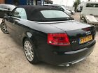 LARGER PHOTOS: 07 AUDI A4 CABRIOLET 3.0 TDI QUATTRO S LINE - CONVERTIBLE LEATHER CLIMATE ALLOYS