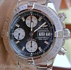 BREITLING SUPEROCEAN CHRONOGRAPH 42MM BEAUTIFUL  DIAL DIVER MENS WATCH A13340