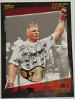 Brock Lesnar Cards, Rookie Cards and Autographed Memorabilia Guide 71