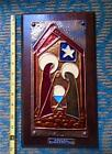 NATIVITY Eddie ONeill Ireland COPPER MURAL Irish Celtic wall Art Jesus Mary