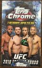 2018 Topps UFC Chrome Factory Sealed Hobby Box
