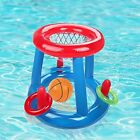 Swimming Pool Basketball Hoop Ball Sets Folding Inflatable Floating Water Sports