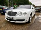 LARGER PHOTOS: 55 BENTLEY FLYING SPUR 6.0 W12 - WHITE *101K MILES* WITH HISTORY *BODYWRAPED*