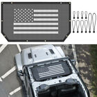 Bikini Soft Top Mesh Cover UV Protection Sun Shade Net Roof For Jeep Wrangler JL