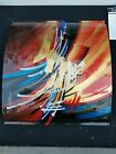 Hand Painted Fused Art Glass Wall signed by TAZIO Original