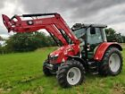 Massey Ferguson 5610 4wd Loader Tractor 2013  VERY LOW HOURS MF Quicke EXTRAS