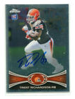 Trent Richardson Cards, Rookie Cards and Autographed Memorabilia Guide 14