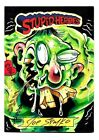 2014 Wax Eye Stupid Heroes Trading Cards 10