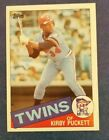 Kirby Puckett Cards, Rookie Card and Autographed Memorabilia Guide 11