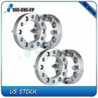 4pcs 125 32mm 6x55 12x15 Wheel Spacers Adapters For 2009 2010 Hummer H3T