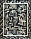 455 Simple Illusions Quilt Pattern Crib Throw Twin Queen King