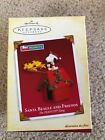 NIB Hallmark Keepsake Ornament Peanuts Snoopy Santa Beagle and Friends