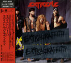Extragraffitti Extreme CD album (CDLP) Japanese PCCY-10155 A&M RECORDS 1990