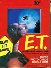 A Complete Box 1982 Topps E.T. The Extra Terrestrial Trading 36 Cards Wax Packs