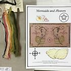 Cross stitch kit Dames of the Needle Finger Work Mermaids and Flowers Mermaid