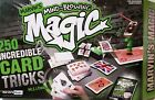 Marvins Mind Blowing Magic Set 250 Incredible Card Tricks New Never Opened