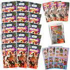 Star Wars Play Packs Party Favors or Classroom Coloring Bks Stickers Game Guide